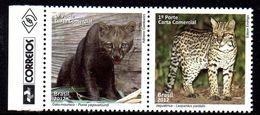 Bresil Brasil 3225/26 Felin, Puma, Leopard, Jaguar - Felinos