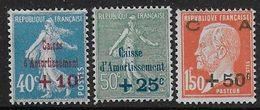 France -  Série 246 à 248 *  - Cote 33 € - Ungebraucht