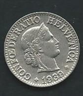 Suisse  10 RAPPEN 1939 ZWITSERLAND     Pia23206 - Suisse