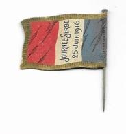 Petit Drapeau épinglette En Carton  - Journée Serbe  - Grande Guerre - Militares