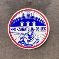 Sticker SU000051- Alpinism Mountaineering Hiking Croatia Osijek HPD Zanatlija - Sports