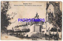 137568 ITALY GRAVINA BARI GARDEN PUBLIC & MONUMENT FALLEN SPOTTED POSTAL POSTCARD - Non Classés