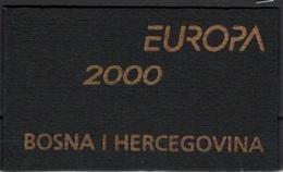Bosnia Herzegovina 2000 EUROPA POSTEUROP Carnet Libretto MNH - 2000