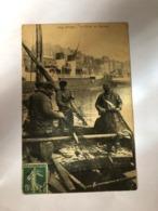 FRANCE - SEINE MARITIME - DIEPPE - LA PECHE DU HARENG - POSTED  1909  - POSTCARD - Dieppe