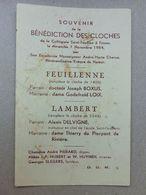 Fosses-la-Ville, Collégiale Saint Feuillen, Bénédiction Des Cloches, 1954, Monseigneur André-Marie Charue - Images Religieuses