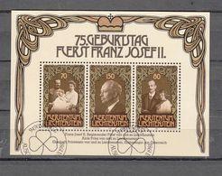 1981  BLOC  N° 711   OBLITERE    CATALOGUE  ZUMSTEIN - Bloques & Hojas
