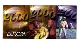 Jugoslavia 2000 EUROPA POSTEUROP Carnet Libretto 2 Set Con Bandella MNH - 2000