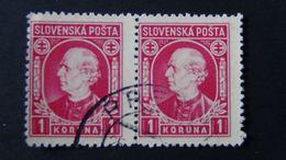 Slovakia - 1939 - Mi:SK 40XA, Sn:SK 31, Yt:SK 27 O - Look Scan - Slovakia