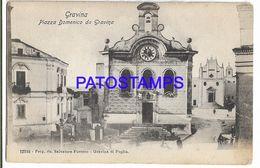 137578 ITALY GRAVINA BARI SQUARE DOMENICO POSTAL POSTCARD - Non Classés