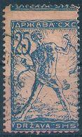 B9165 Yugoslavia SHS Serbia Issue For Slovenia Used ERROR - 1919-1929 Royaume Des Serbes, Croates & Slovènes