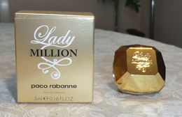 LADY MILLION - EDP 5 ML De PACO RABANNE - Moderne Miniaturen (ab 1961)