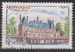 Tourisme - FRANCE - Chateau De Sully, Rosny Sous Bois  - N° 2135 - 1981 - Used Stamps