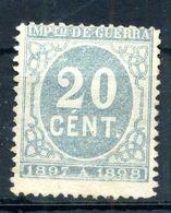 1897 SPAGNA N.22 * Imposta Di Guerra - Impuestos De Guerra