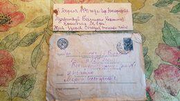 Old Letter - USSR Russia 1940 Soviet Post - Field Post Feldpost - Vecchi Documenti