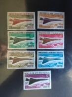 Grand Série Coloniale Concorde - Neuf ** Gomme Luxe Neuf SANS Charnière, Gomme Non Coloniale Habituelle, TTB Cote 315 E. - 1969 Avion Supersonique Concorde