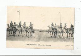 MAURITANIE 7 MEHARISTES MAURES (CARTE STEREOSCOPIQUE) - Mauritania