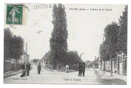 PAYNS L ARBRE DE LA LIBERTE 1908 DAUVERGNE TROYES 192 RUE DE PREIZE - CPA AUBE - Otros Municipios
