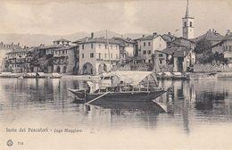 ISOLA PESCATORI-LAGO MAGGIORE-VERBANO CUSIO OSSOLA-BELLA IMMAGINE-CARTOLINA NON VIAGGIATA -ANNO 1900-1904 - Verbania