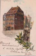 Nürnberg - Albrecht Dürerhaus U. Denkmal - Nuernberg