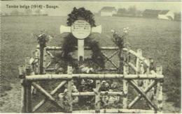 Militaria. Bouge. Tombe Belge (1914) - Guerre 1914-18