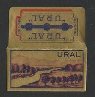 Razor Blade URAL Old Vintage WRAPPER (see Sales Conditions) - Lamette Da Barba