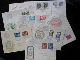 Lot De 6 First Day & 2 Autre Enveloppes  De Portugal Avec Très Beau Timbres - Francobolli