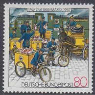 Germany 1987 - The Day Of Stamp: Tricycles - Mi 1337 ** MNH [1083] - Wielrennen
