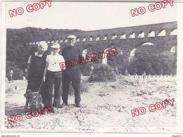 Au Plus Rapide Pont Du Gard Année 1975 Beau Format - Cars