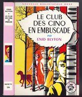 """Nouvelle Bibliothèque Rose N°236 Club Des Cinq - Enid Blyton  - """"Le Club Des Cinq En Embuscade"""" - 1967 - Bibliotheque Rose"""