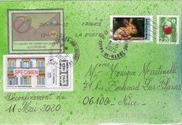 France, Coronavirus,covid 19, Déconfinement Du 11 Mai 2020. Montimbrenligne. - Marcophilie (Lettres)