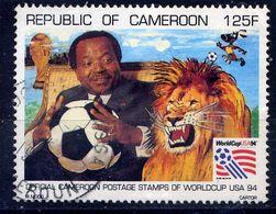 CAMEROUN  - N° 871° - COUPE DU MONDE DE FOOTBALL - Camerún (1960-...)
