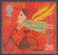 Great Britain 1999 - Millennium: Bicycle - Mi 1783 ** MNH [1084] - Wielrennen
