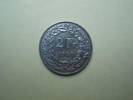 2 Francs 1944 Helvétia. Argent - Silver. - Suisse