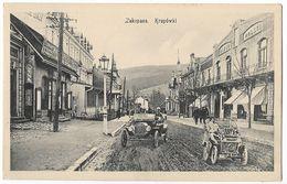 Poland Zakopane Krupowki With Cars 1914 - Poland
