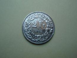 2 Francs 1943 Helvétia. Argent - Silver. - Suisse