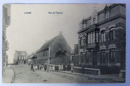 LUIGNE (Luingne) Rue De L'Eglise. - Moeskroen