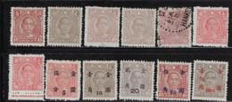 CHINA 1944,1948 SCOTT MINT 565-567,569,571,828,835,842,851,880 USED 570 - 1912-1949 Republik