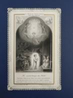 Ancienne Carte Religieuse Canivet - Religion &  Esoterik