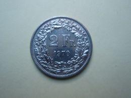 2 Francs 1970 Helvétia. Cupro-Nickel - Suisse