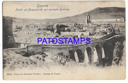 137615 ITALY GRAVINA BARI BRIDGE AND AQUEDUCT ON THE STREAM POSTAL POSTCARD - Non Classés