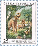 ** 453 Czech Republic - BURIAN - DEINOTHERIUM 2005 - Timbres