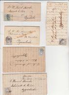 ESPAGNE -  Lot De 5 Lettres - 1868-70 Gobierno Provisional