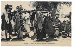 NIGER - ZINDER - Scène De Marché, Dioulas Et Acheteuses - Niger