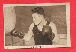 Carte Serie A N° 25 Edouard MASCART Boxe Boxeur Les Vedettes Sportives Chocolat KEMMEL N° 3 ARISTA - Trading-Karten