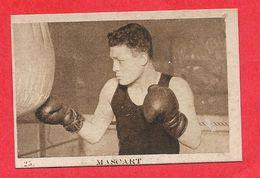 Carte Serie A N° 25 Edouard MASCART Boxe Boxeur Les Vedettes Sportives Chocolat KEMMEL N° 3 ARISTA - Trading Cards