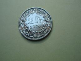 2 Francs 1974 Helvétia. Cupro-Nickel - Suisse