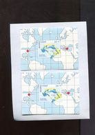 Belgie 2x BL72 MNH Avec CURIOSITE 'EXTRA MERIDIEN A GAUCHE' Olympics 1996 Atlanta USA High Jump Luppi Etc.. - Errors And Oddities