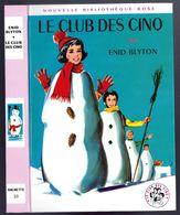 """Nouvelle Bibliothèque Rose N°20 - Club Des Cinq - Enid Blyton  - """"Le Club Des Cinq"""" - 1967 - Bibliothèque Rose"""
