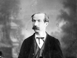 TRES RARE  Négatif  Sur Plaque De Verre De 1875 : EMILE ORDINAIRE Photographe à DINARD - Plaques De Verre