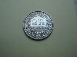 2 Francs 1969 Helvétia. Cupro-Nickel - Suisse